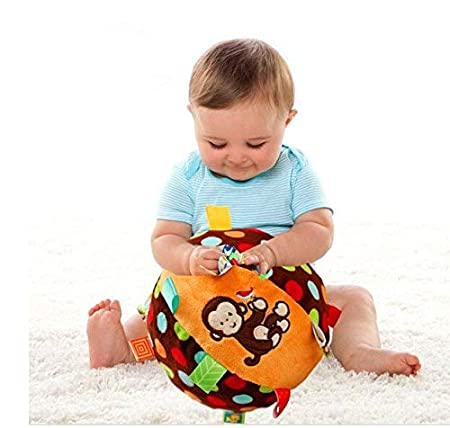 DishyKooker - Pelota de Tela para bebé: Amazon.es: Hogar