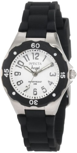 Invicta Women's 1627 Angel Collection Rubber Watch