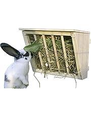 Kerbl Hay Rack con Seduta in Legno, 25x 17x 20cm