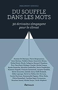 Du souffle dans les mots : Trente écrivains s'engagent pour le climat par Parlement sensible