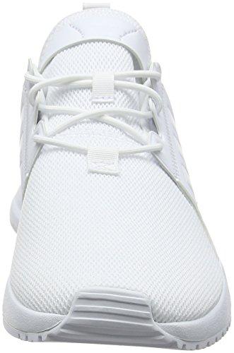 adidas X_PLR J, Zapatillas de Gimnasia Unisex Niños Blanco (Ftwbla / Ftwbla / Ftwbla 000)