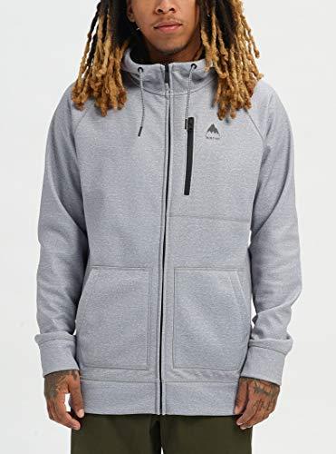 Burton Men's Crown Bonded Full Zip Hoodie Sweatshirt
