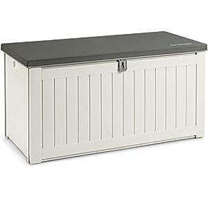 OSTWAY Garden Deck Box with Lockable Lid