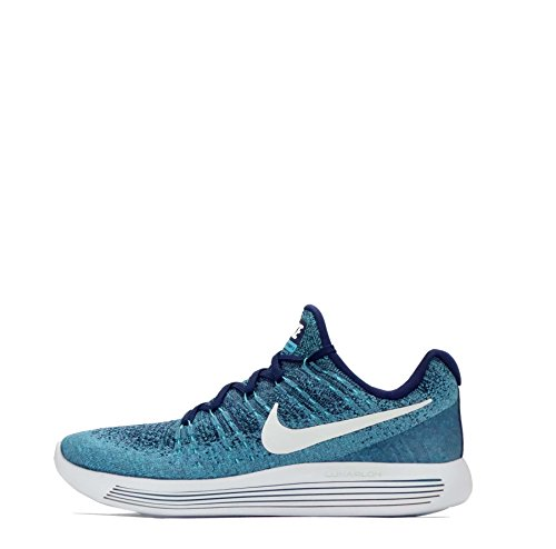 Nike W Nike Lunarepic Low Flyknit 2 Binary Blue / White-polarized