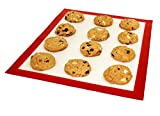 DoughEZ 11 x 16.5-Inch Silicone Fibermesh Non-Stick Baking Mat | Oven Safe Up to 480° F | Dishwasher Safe | BPA Free, FDA Approved Materials
