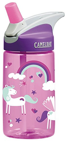 (CamelBak Kids Eddy Water Bottle, 0.4 L, Unicorns)