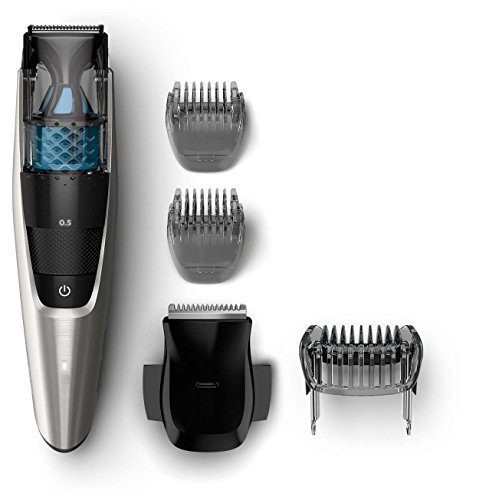 Philips Norelco All-in-One Multigroom Vacuum Turbo-Powered Beard & Mustache Trimmer Grooming Kit