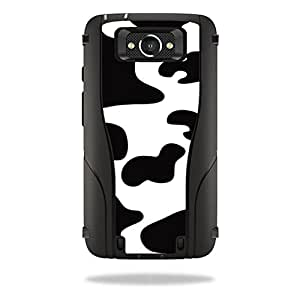 Mightyskins Protective Vinyl Skin Decal Cover for Otterbox Defender Motorola Droid Turbo Case cover wrap sticker skins Cow Print