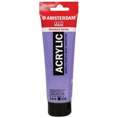Royal Talens Amsterdam Standard Series Acrylic Color, 120ml Tube, Titanium Buff Light (17092892)