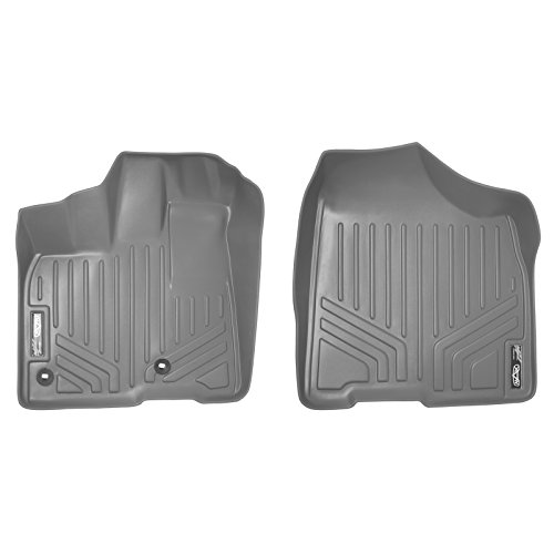 MAXFLOORMAT Floor Mats 1st Row Set Grey for 2013-2018 Toyota Sienna (All (Grey 1st Row)