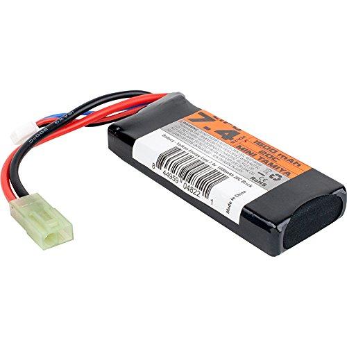 Valken Airsoft Battery - Li-Po 7.4v 1600mAh 30c Mini Brick Style
