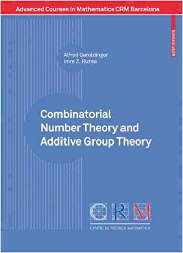 Combinatorial Number Theory and Additive Group Theory (Advanced Courses in Mathematics CRM Barcelona)