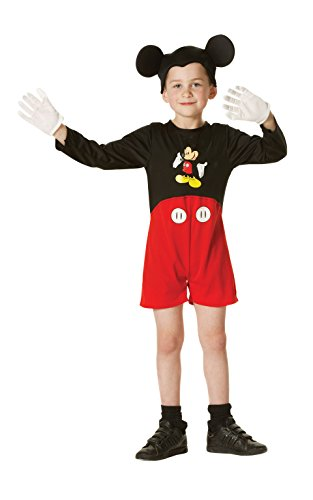 Mickey Mouse Full Costume (Toddlers Classic Mickey Mouse Costume)