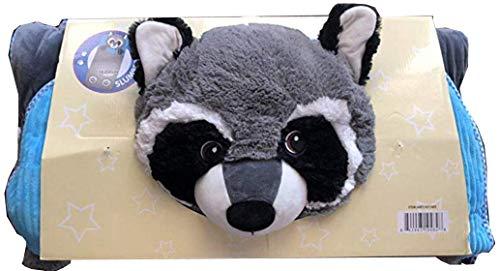 Hugfun Animal Slumber Bag (Grey - Bag Animal Bed Sleeping