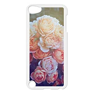 SOPHIA Phone Case Of Fashion Flower Retro Design for iPod Touch 5