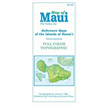 Map of Maui  The Valley Isle