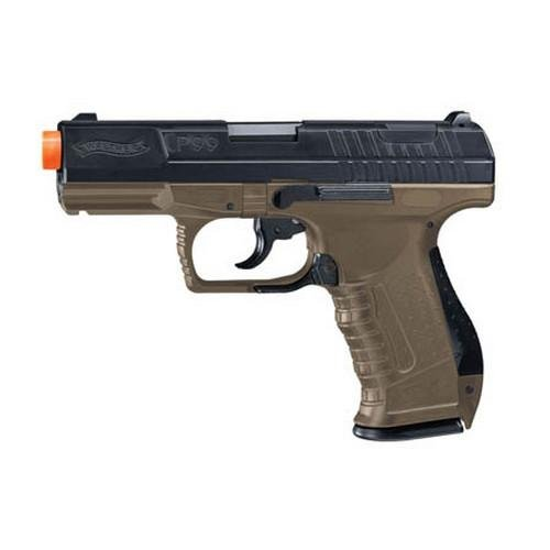 Umarex Walther Replica SO P99 Soft Air, Dark Earth BB Brown