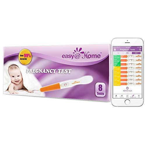 1000 Easy@Home Home HCG Pregnancy Test Strips