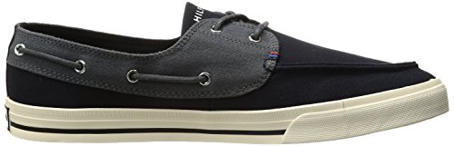 Tommy Hilfiger Men's Philo Fashion Sneaker, Black, 7.5 M US