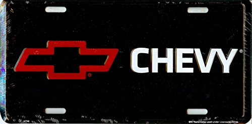 chevy bow tie license plate - 7