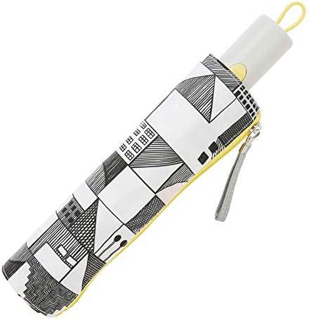 小川(Ogawa) 折りたたみ傘 ワンタッチ自動開閉 晴雨兼用日傘 軽量 50cm 5本骨 シティーウォーク UV加工 遮熱遮光加工 はっ水 共袋付き 途中で飛び出さない安全装置付 81307