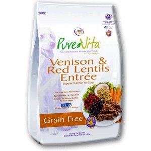 Purevita Grain Free Venison Dog Food 5Lb For Sale