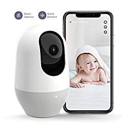 Nooie 360 Degree 1080P Wifi Camera, guard and protect what matters to you, keep tabs on home remotely 24/7.【Guarantee】1. 30-day return policy & 2-year limited warranty2. Timely customer service via support@nooie.com【Connection Tips】1. Only suppor...