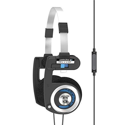 inakustik PORTA PRO – ultra draagbaar met microfoon en afstandsbediening, zwart/zilver, één maat, 145193970