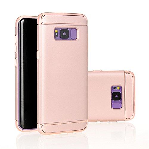 Galaxy S8Plus caso, LB comercial a prueba de golpes delgada carcasa rígida para Galaxy S8Plus azul azul oro rosa