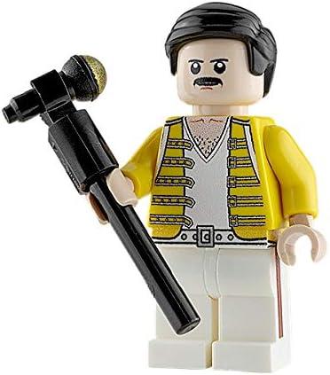 QUEEN FREDDIE MERCURY LEGO MINIFIGURES COMPATIBLE