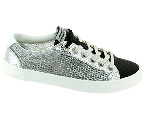 Sneaker Pepe Jeans grigio London Donna wxSvYanq