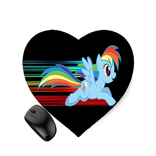 My Little Pony Rainbow Dash (Heart-Shaped) Mouse Pad 8.6