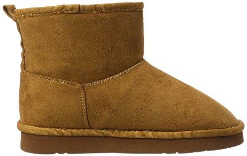 Buffalo Shoes 334774 Micro Fiber 31# , Botas Antideslizantes para Mujer Marrón (Camel)
