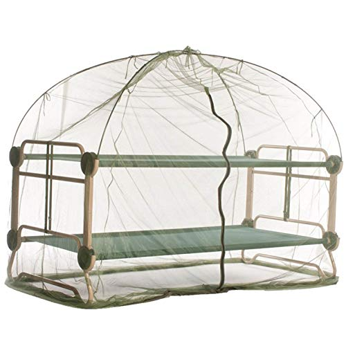 Disc-O-Bed Mosquito Net and Frame, Green/Black