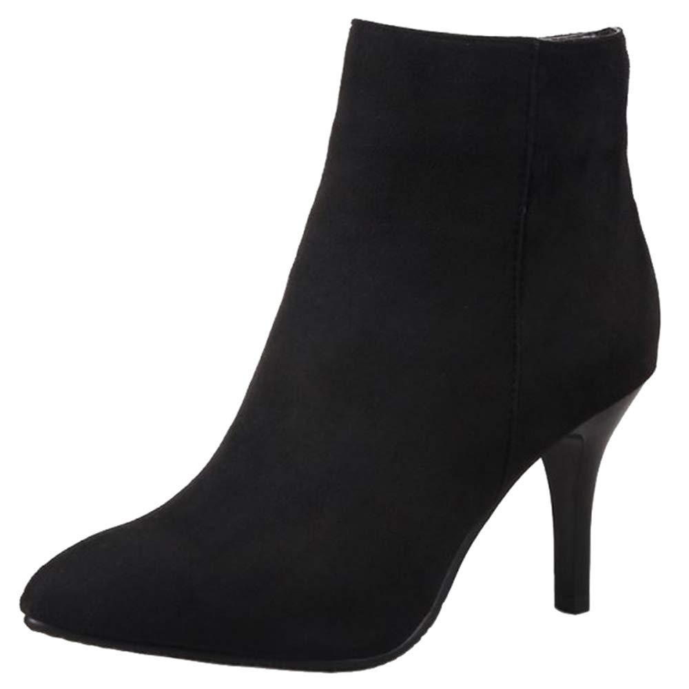SJJH , Boots 19998 , Chelsea B06XJ3YMC8 Femme Noir 5185478 - fast-weightloss-diet.space