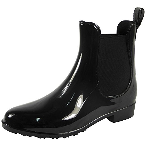 Short Boots Winter 3 8 Womens Ladies Wellingtons New Flat Low Size Vintage Ankle Wellies Heel Pixie 8qFPw
