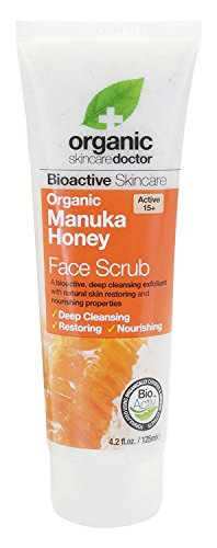 Organic Doctor Manuka Honey Face Scrub, 4.2 Fluid Ounce