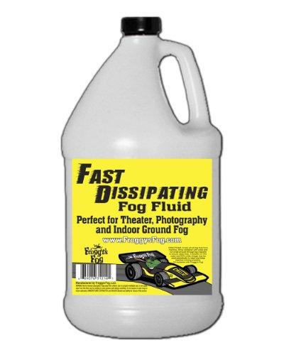 Froggys Fast Dissipating / Indoor Stage Ground Fog Juice - 1 Gallon Fluid (Martin Fog Machine)