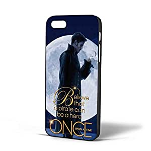 Once Upon a Time Captain Hook for Iphone Case (iPhone 5/5s Black)