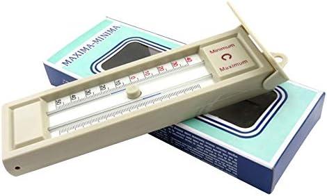 RoxTop Innen Au/ßen Garten Gew/ächsh/äuser Wandtemperaturmonitor Maximum /& Minimum Thermometer 40 bis 50 Grad Thermometer