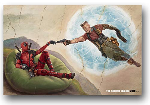 Deadpool 2 Poster - Movie Promo 11 x 17 Touch