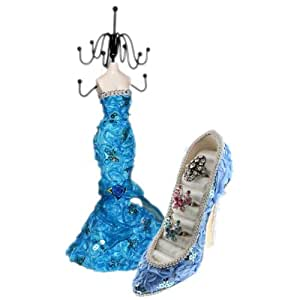 Amazon.com: Light Blue Mermaid Style Frill and Sequin