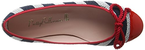 Marilyn Red Ocean Rouge Ballerines Pretty Femme shade Ballerinas axWTqWz