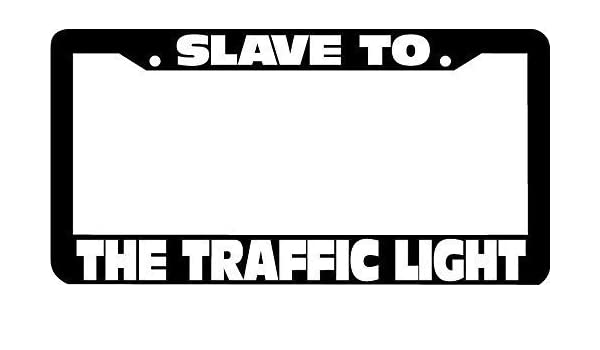 YEX Slave to The Traffic Light Phish License Plate Frame Car Tag Frame Auto License Plate Holder 12 x 6