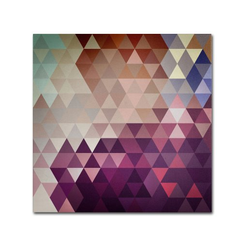Trivector by Christian Jackson, 35 by 35-Inch Canvas Wall Art