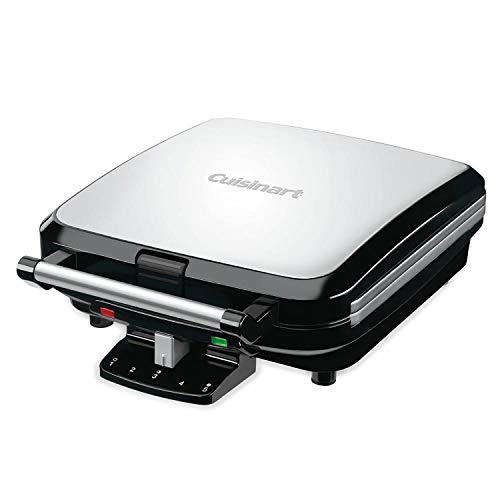 Cuisinart WAF-150FR 4 Slice Belgian Waffle Maker (Certified Refurbished) by Cuisinart
