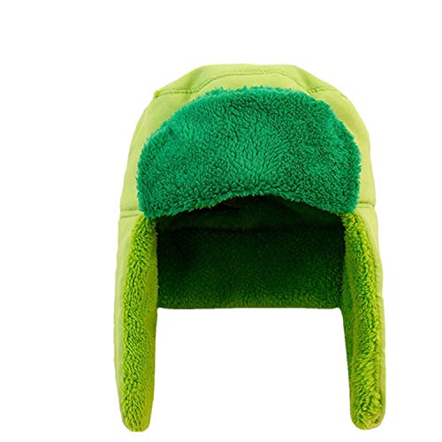 LONIY Cartoon South Park Hat Cosplay Kyle Broflovski Green Adult Unisex Halloween Accessories Ushanka Cap -