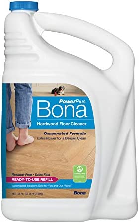Bona Hardwood Floor Cleaner Refill, 128 ounces, PowerPlus