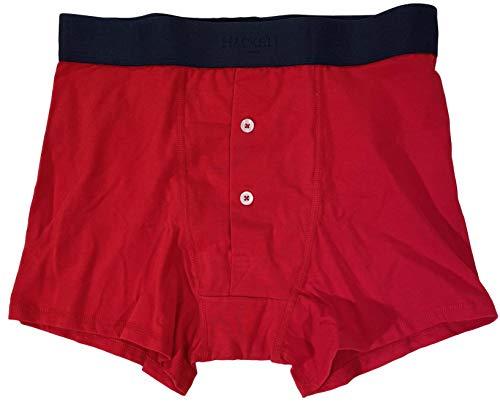 Hackett London Underwear Men's RED 2 Button Cotton Stretch Trunks Boxer Briefs Small