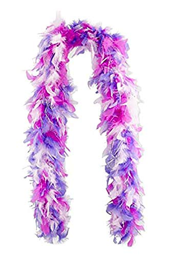 Toys R US Dream Dazzlers Feather Boa with Tinsel - Pink and Purple ()